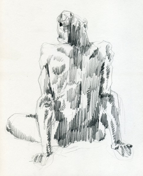Nude back 01